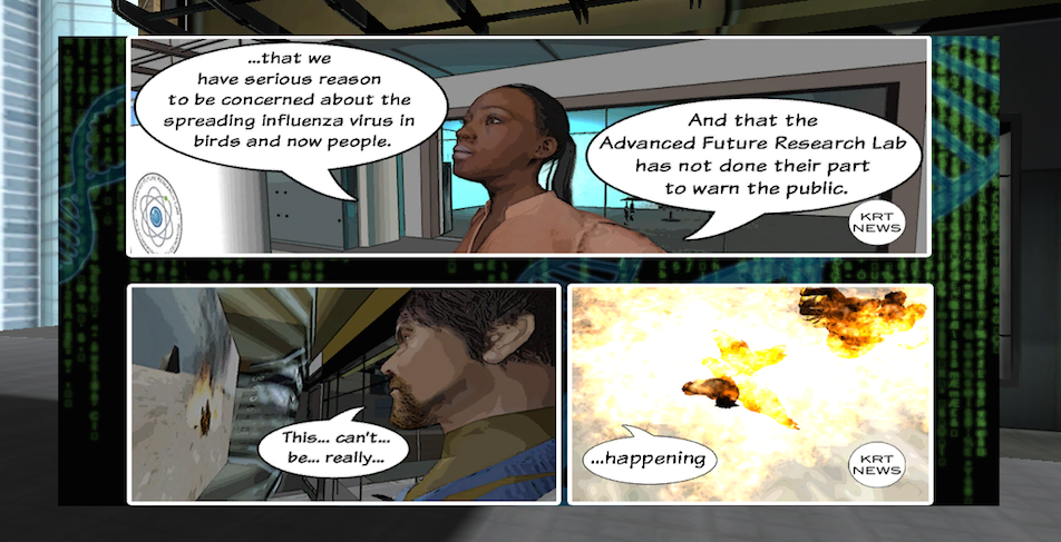 Players are introduced to the virus outbreak in MAX5.